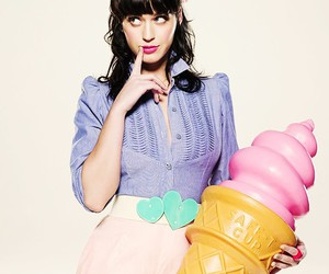 katy perry and ice cream image