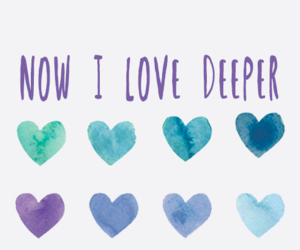 love, deep, and february image