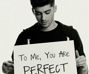 zayn malik, one direction, and perfect image