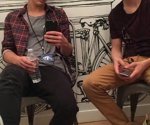 cameron dallas, hayes grier, and grier image