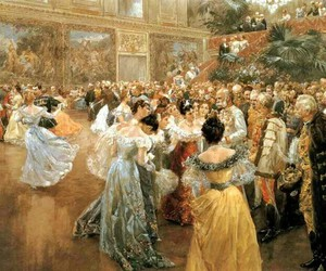 dance, waltz, and painting image