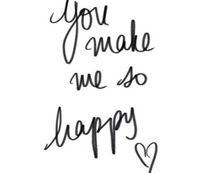 happy, love, and quotes image