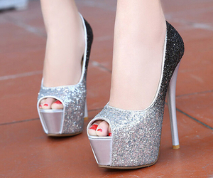 luxurious, pumps, and rich image