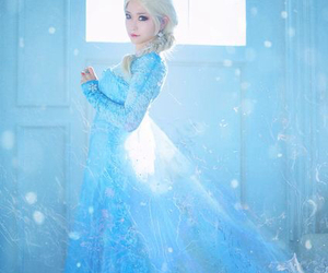frozen, elsa, and cosplay image