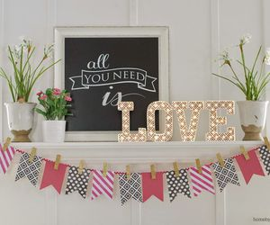 decor, diy, and love image