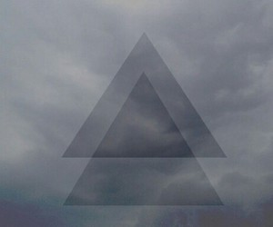 wallpaper, hipster, and triangle image