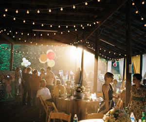 lights and party image