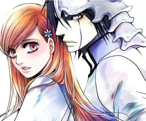 bleach, Orihime, and Ulquiorra image