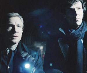 Martin Freeman, sherlock, and john watson image