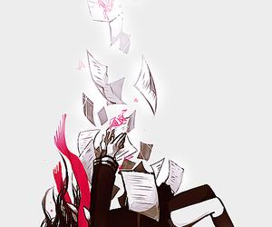anime, anime girl, and falling image