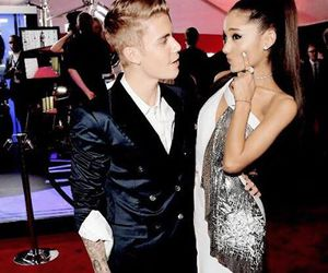justin bieber, ariana grande, and love image