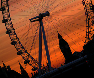 london and london eye image