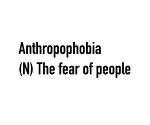phobia, fear, and quote image