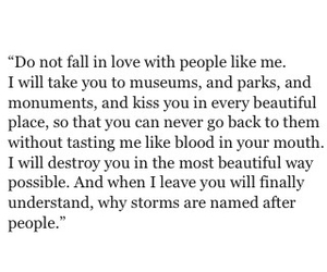 fall in love, writte, and read image