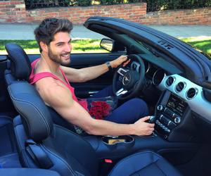 car, nick bateman, and boy image