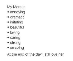 mom, love, and beautiful image