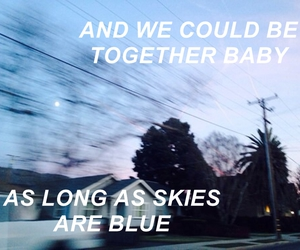 calvin harris, quote, and sky image