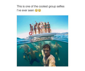 selfie, summer, and cool image