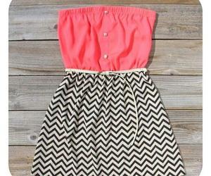 dress, fashion, and stripes image