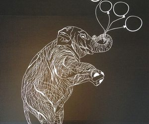 elephant and paper carvings image