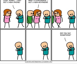funny, iphone, and boyfriend image