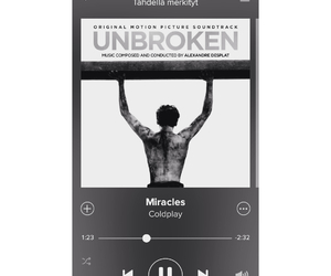 coldplay, miracles, and unbroken image