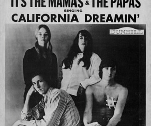 california, california dreamin', and the mama's and the papa's image