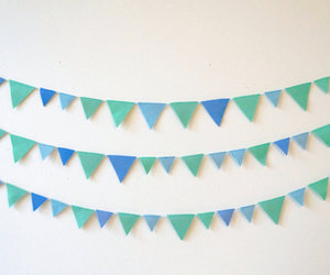 baby, banner, and bunting image