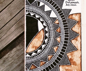 aztec, doodle, and journal image