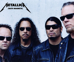 band, sun glasses, and heavy metal image