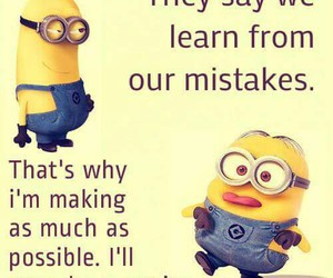minions, funny, and genius image