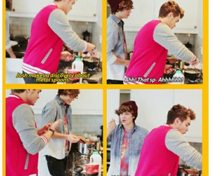 cook, funny, and cooking image