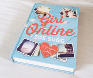 book, girl online, and pretty image