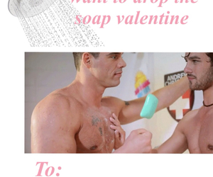 gay, guys, and valentines card image