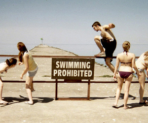 adorable, Prohibited, and swimming image