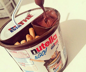 nutella, yummy, and chocolate image
