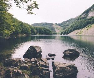 nature, lake, and indie image