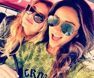 ashley benson, pretty little liars, and shay mitchell image