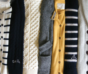 sweater, fashion, and cardigan image