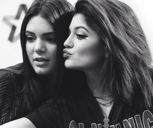 sisters, kylie jenner, and kendall jenner image