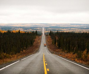 day, road, and sky image