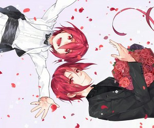 anime, beautiful, and roses image