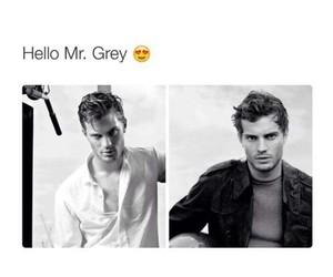 christian grey, Jamie Dornan, and Hot image