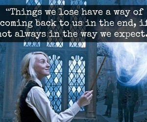 book, harry potter, and luna image