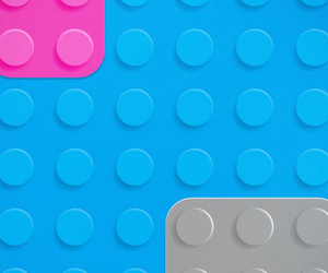 lego, wallpaper, and blue image