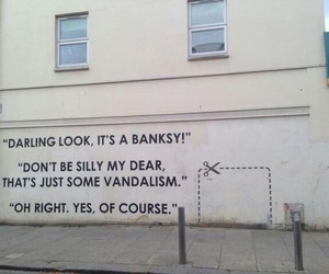 BANKSY, art, and grunge image