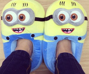 minions, cute, and shoes image