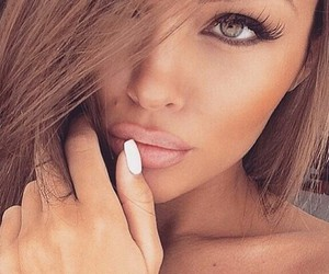 girl, beauty, and nails image