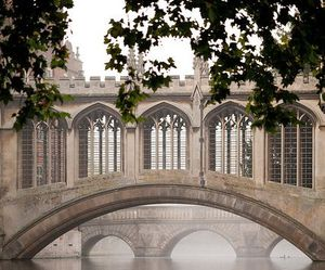 bridge, cambridge, and england image