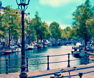 amsterdam, city, and landscape image